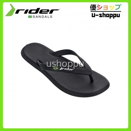 Rider Men FlipFlops & Sandals Lelaki - Rider R1 AD Sandals Black/Black