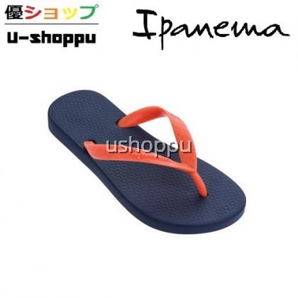 IPANEMA CLASSICA KIDS FLIP FLOPS (BLUE / ORANGE)