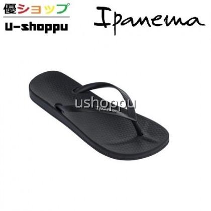 Ipanema Ladies Flip Flop & Sandal Wanita - Anat Colors Fem Basics Black/Black