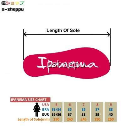 Ipanema Ladies Flip Flop & Sandal Wanita - Anat Colors Fem Basics Red/Red
