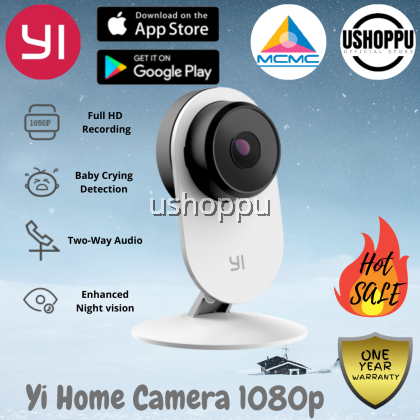 YI Home Camera 1080P Wireless IP Security Surveillance System Yi Camera Yi CCTV Baby Crying Detection/ Motion Detection / Sound Detection