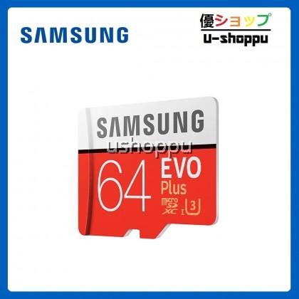 Samsung EVO PLUS 64GB Class 10 Micro SDHC Card with Adapter