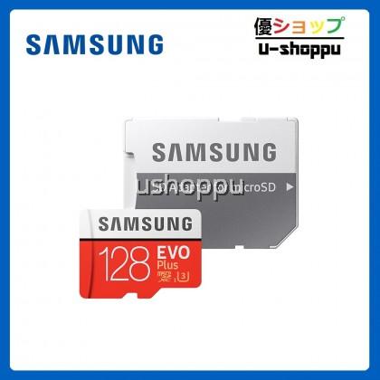 Samsung EVO PLUS 128GB Class 10 Micro SDHC Card with Adapter