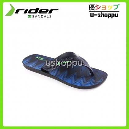 Rider Men's Flip Flop & Sandal Lelaki - Rider Strike Plus AD Black/Blue/Green