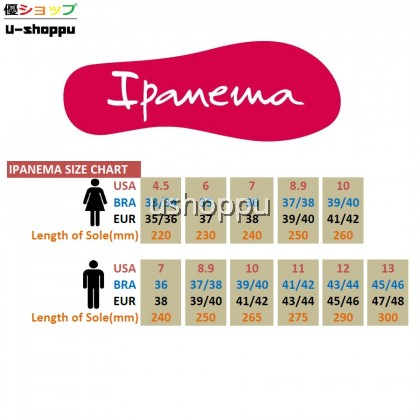 Ipanema Ladies Flip Flop & Sandal Wanita - Classica Tan Fem Black/Smoke Black