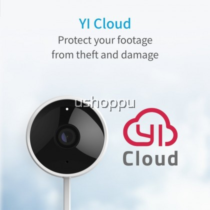YI Outdoor Camera 1080P Wireless IP65 Weatherproof Night Vision Surveillance System with 24/7 Emergency Response, Motion Detection, Activity Alert, Deterrent Alarm