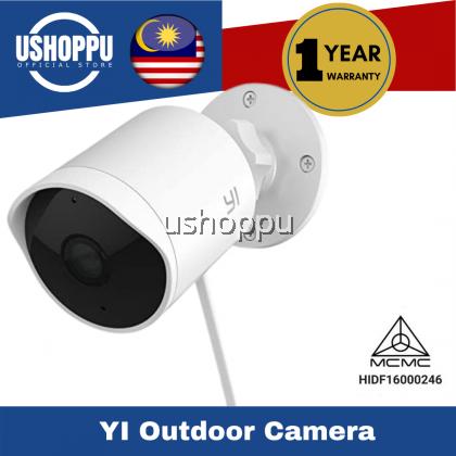 YI Outdoor Camera 1080P Wireless IP65 Weatherproof Night Vision Surveillance System with 24/7 Emergency Response, Motion Detection, Activity Alert, Deterrent Alarm