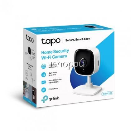 TP-Link Tapo C200 1080P Full HD Pan / Tilt Tapo C100 Wireless WiFi CCTV Home Security Surveillance IP Camera CCTV