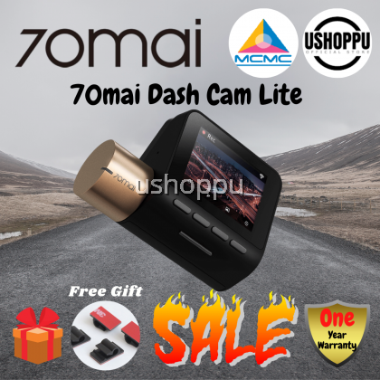 [ENGLISH VERSION] Xiaomi 70mai Dash Cam Lite Car Recorder 70mai Dashcam Lite D08 1080 Full HD Starvis Night Vision HD Smart Dashboard Camera Recorder