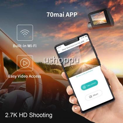 【Global Version】 70mai PRO/A500 Car Recorder Dashcam 1944P 70 MAI Pro Car Cameras WiFi APP CONTROL ORI ENGLISH SET