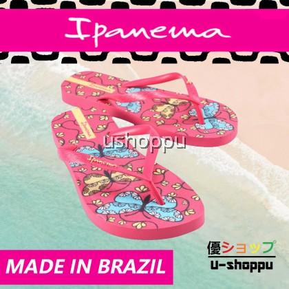 Ipanema Ladies Flip Flop & Sandal Wanita - Jardins II FEM Pink/Pink/Beige