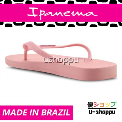 Ipanema Ladies Flip Flop & Sandal Wanita - Anat Colors Fem Basics Pink/Pink