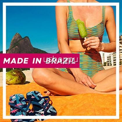 Ipanema Ladies Flip Flop & Sandal Wanita - Anat Colors Fem Basics Blue/Navy