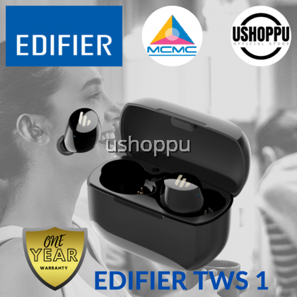 Edifier TWS1 True Wireless Earbuds Bluetooth Earphone Wireless headphone bluetooth IPX5 splash & sweatproof Edifier Earphone Wireless