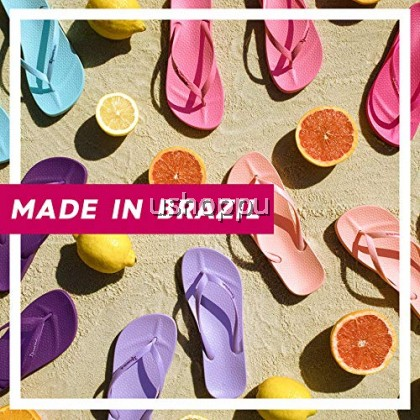 Ipanema Ladies Flip Flop & Sandal Wanita- Swell Print Fem Beige/ Orange/ Green