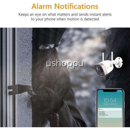 Imou New Bullet Outdoor Active Deterrence WiFi Security Camera , Wireless Camera CCTV/ PIR Detection/ 2-Way Audio/ Night Vision WiFi Camera