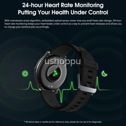 [Global Version] Xiaomi Haylou Solar Smart Watch IP68 Waterproof Sport Fitness Sleep Heart Rate Monitoring Bluetooth LS05 SmartWatch