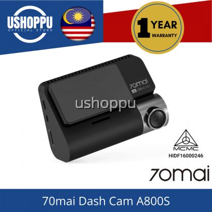 【Ready Stock】English Version 70mai A800S Dual vision 140 Rear Cam FOV 4K Ultra HD Screen Dash Cam Rear APP Control 24h Night Vision A800