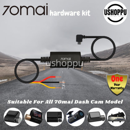 70mai Hardware kit Surveillance Cable for 70mai 4K Dash Cam A800 Cam Wide Cam PRO 70mai Hardwire Kit for 24H Parking Monitor in Car