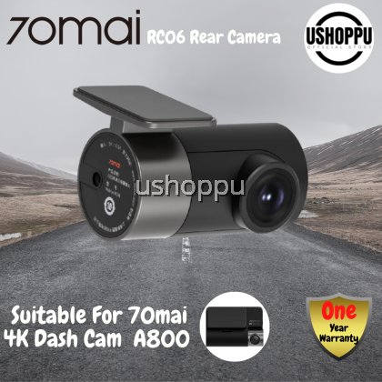 70mai RC06 Rear Cam for 70mai 4K Dash Cam A800 70mai 4K Car DVR A800 Rearview cam