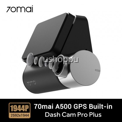 70mai Dash Cam Pro Plus 70mai A500 Built-in GPS Speed Coordinates ADAS Car DVR Cam 24H Parking Monitor 1944P App Control