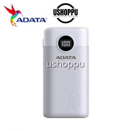 ADATA PowerBank 22.5W/18W Fast Quick Charge PD Type C Triple USB Output LED 10000
