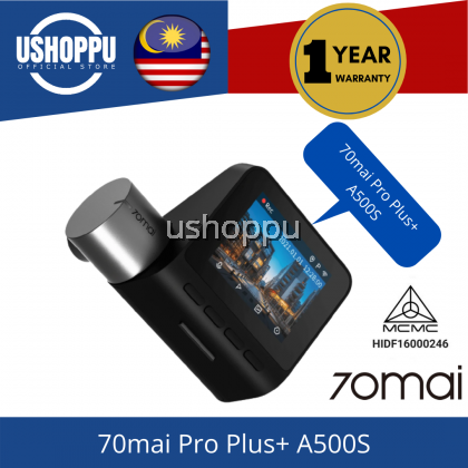 [Upgrade Version] 70mai Smart Dash Cam Pro Plus A500S Car DVR Built-in GPS 1944P Speed Coordinates ADAS 24Hours Parking