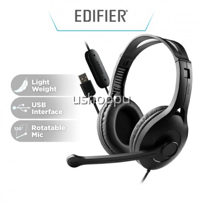 Edifier K800 USB High Performance E-Learning Over-Ear Headphones with Mic for Work from Home Online Education