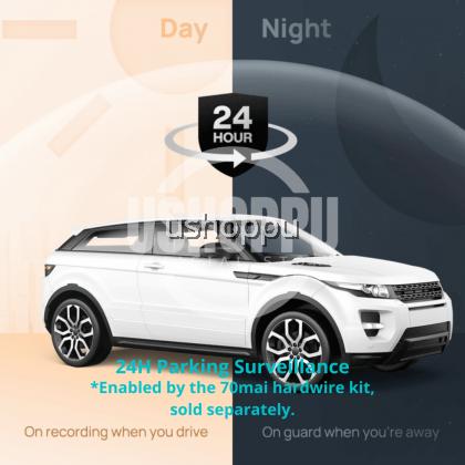 70mai M300 Car Recorder Dash Cam 1296P 140 FOV WDR App Control Parking Mode